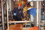 industrial plant cleaning service